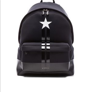Other - Givenchy Star Backpack Black